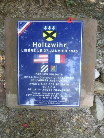 Holtzwihr Memorial to Audie Murphy