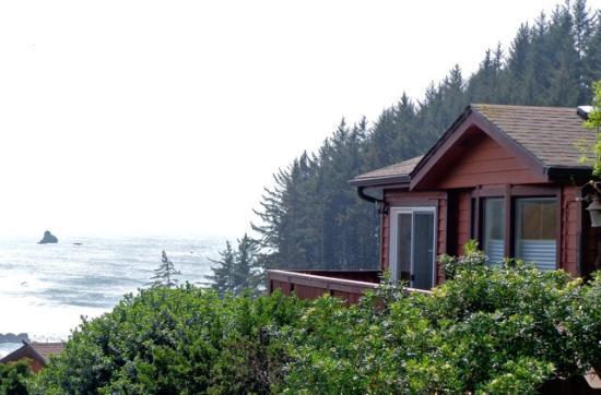 Whaleshead Beach Resort: Cabin OV9A overlooking ocean