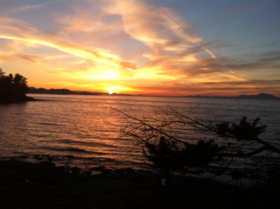 Gabriola Island, Kanada: Our Sunsets