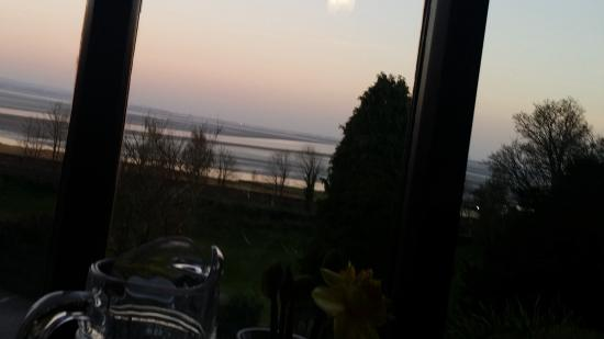 Netherwood Hotel & Spa: View from restaurant in the evening