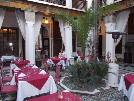 Angsana Riads Collection Morocco - Riad Dar Zaouia: Dining at the Riad Si Said