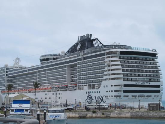 Cruise Ship At Dock Picture Of Royal Naval Dockyard Sandys - Docked cruise ship