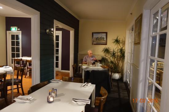 Denman, Australien: Hyggelig spisesal