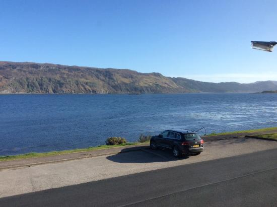 Lochcarron, UK: View from our room ,says it all.