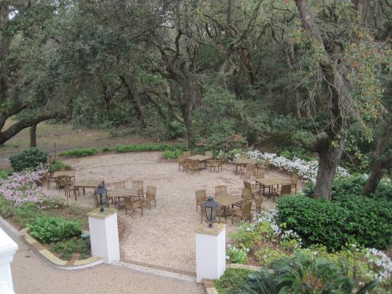 Hampton Inn & Suites Jekyll Island: Looking out towards the beach