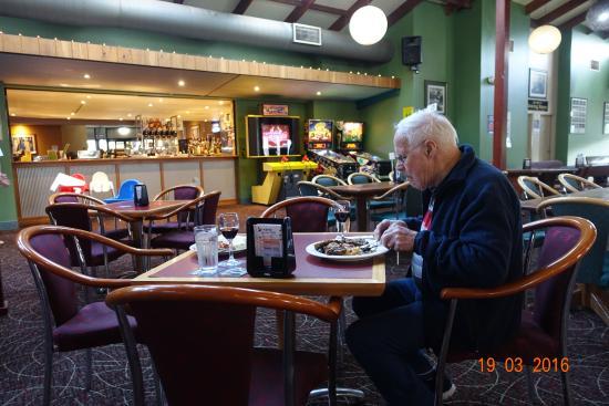 Vineyard, Australien: Ett bord blandt mange.