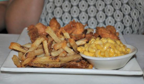 แจ็คสัน, มิซซิสซิปปี้: chicken tenderloins with mac & Cheese