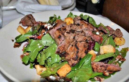 Jackson, MS: steak and bleu salad