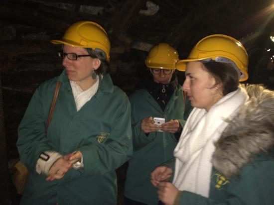 Blegny, Bélgica: Visite sous terre - un autre temps