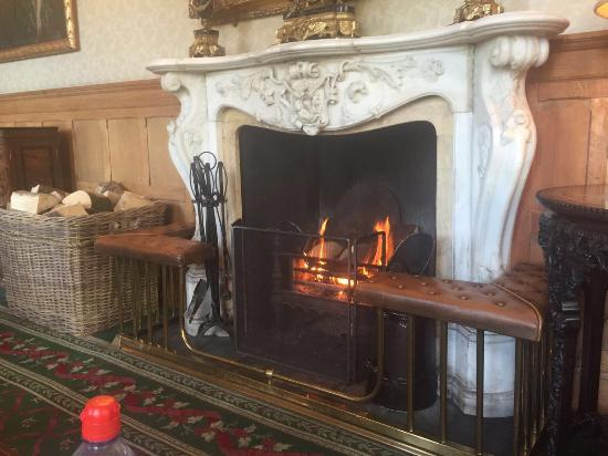 drawing room with log fire perfect for after dinner coffee rh tripadvisor co nz