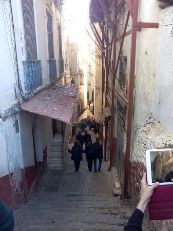 Alger, Argelia: ruelles