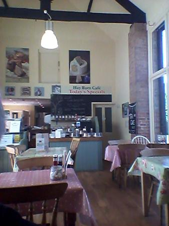 The Hay Barn Cafe Interior