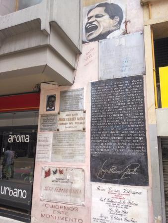 Jorge Eliecer Gaitan Monument