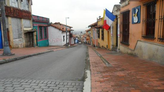 Alegria's Hostel: Rua do hostel