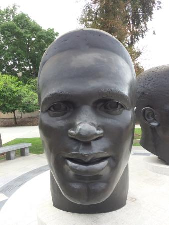 the statue of jackie robinson picture of robinson memorial rh tripadvisor ie