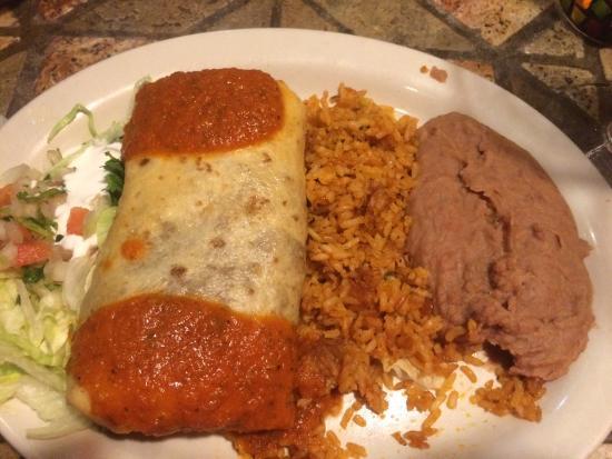 Mexico Bravo Cantina Bar & Grill: Mexico Bravo Chimichanga
