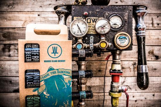 Wild on Waiheke : Waiheke Island Brewery Robot & 4 pack