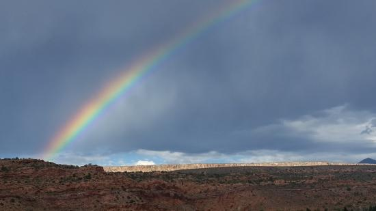 Morris' Last Resort: Moab Rainbow