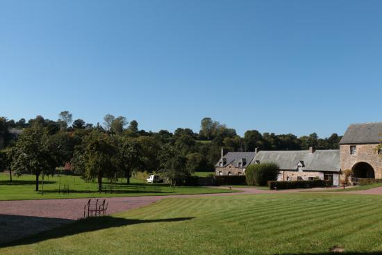 Hambye, Frankreich: Surrounding grounds of the Abbey