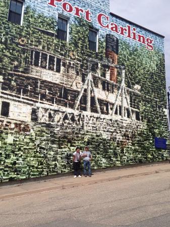 Port Carling, Kanada: Interesting Wall Mural