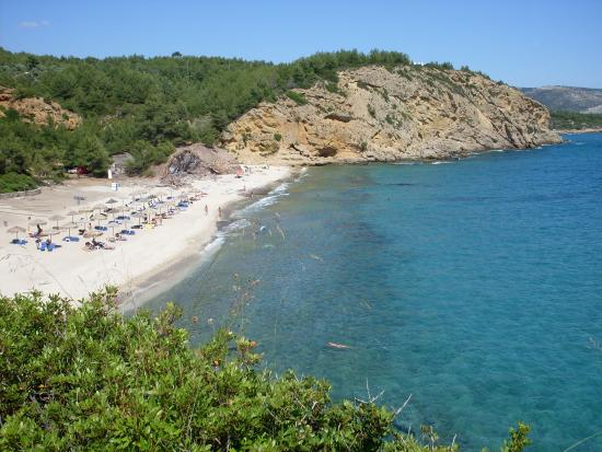 Metalia Beach, Limenaria, Thasos - Bild från Metalia Beach ...