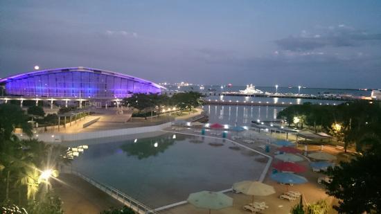 Adina Apartment Hotel Darwin Waterfront : Our last night