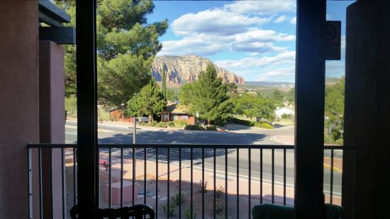 Bell Rock Inn: View from Rm 424 (second floor)