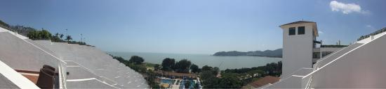 Grand Coloane Resort Macau: View from hotel room, from the ocean-wing