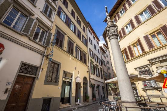 Hotel Ferretti: Facciata esterna