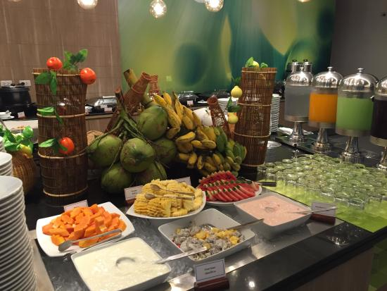 breakfast buffett - Picture of Ibis Styles Krabi Ao Nang, Ao Nang ...