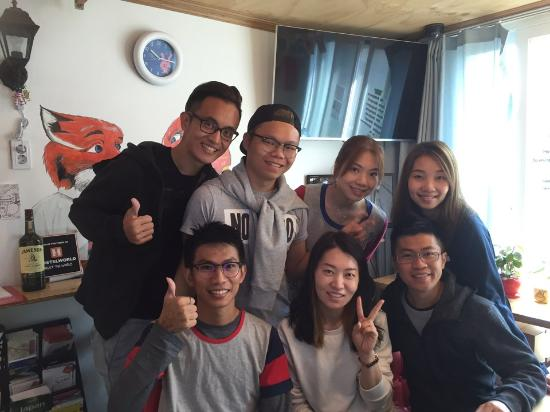 our lovely guests from malaysia picture of hongdae lazy fox rh tripadvisor ie