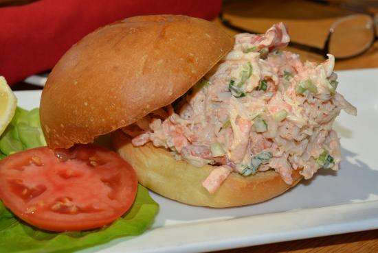 Grasonville, MD: Lobster Roll with Fries $22