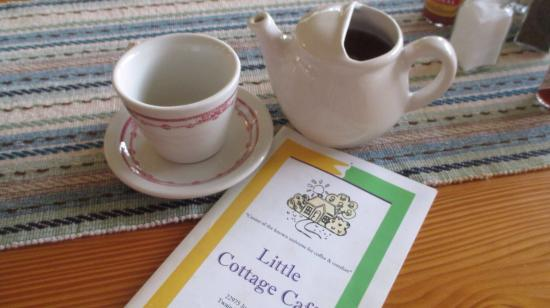 Twain Harte, Californië: Cottage Cafe tea