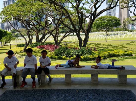 마닐라 미군 묘지& 기념관 사진