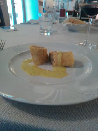 Agriturismo Assiuolo: crosta di pane con carciofi
