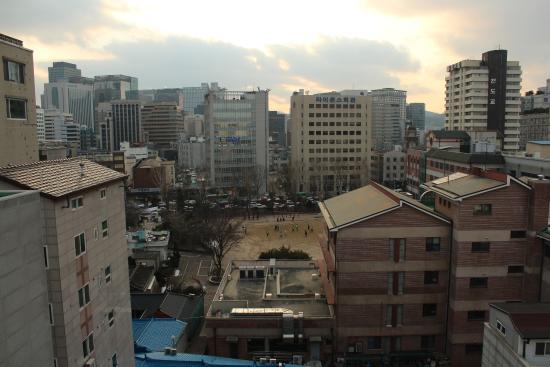 Hotel Icon: Вид с крыши отеля