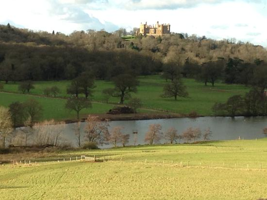 Belvoir Castle within the great Capability Landscape