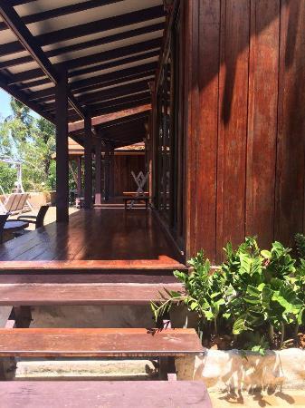 Bhuvarin Resort: Deluxe Thai Villa balcony