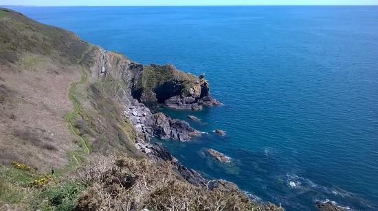 Polperro, UK: Cliff path