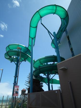 Glenelg, Australia: Water chute