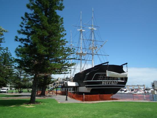 Glenelg, Australia: HMS Buffalo 1813 now a restauarant