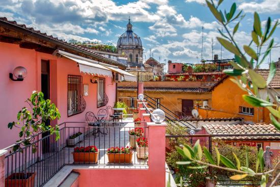 Terrazza Picture Of Hotel Sole Roma Rome Tripadvisor