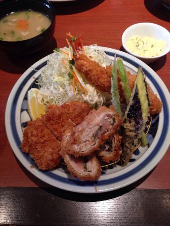Tonkatsu Hamakatsu, Yamaguchi Ube