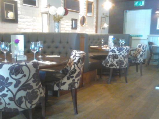 Leyland, UK: Cosy seating on upper floor