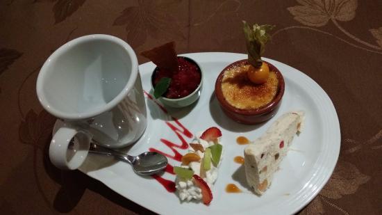 Fort-du-Plasne, Франция: Thé gourmand