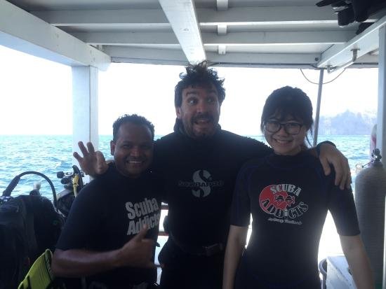 Scuba Addicts: The best dive company in ao Nang
