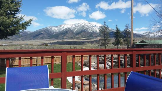 Irwin, ID: Sit on the deck and enjoy the view....