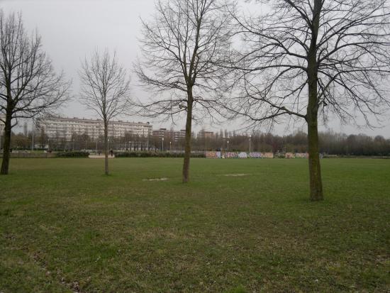 Parco Albanese: Veduta verso pattinodromo