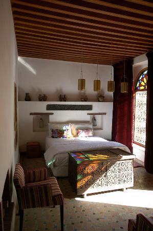 Riad Les Oudayas : Une des suites du riad. La suite Asmae.