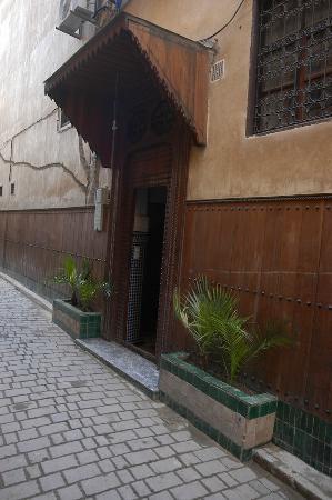 La façade du riad Les Oudayas.